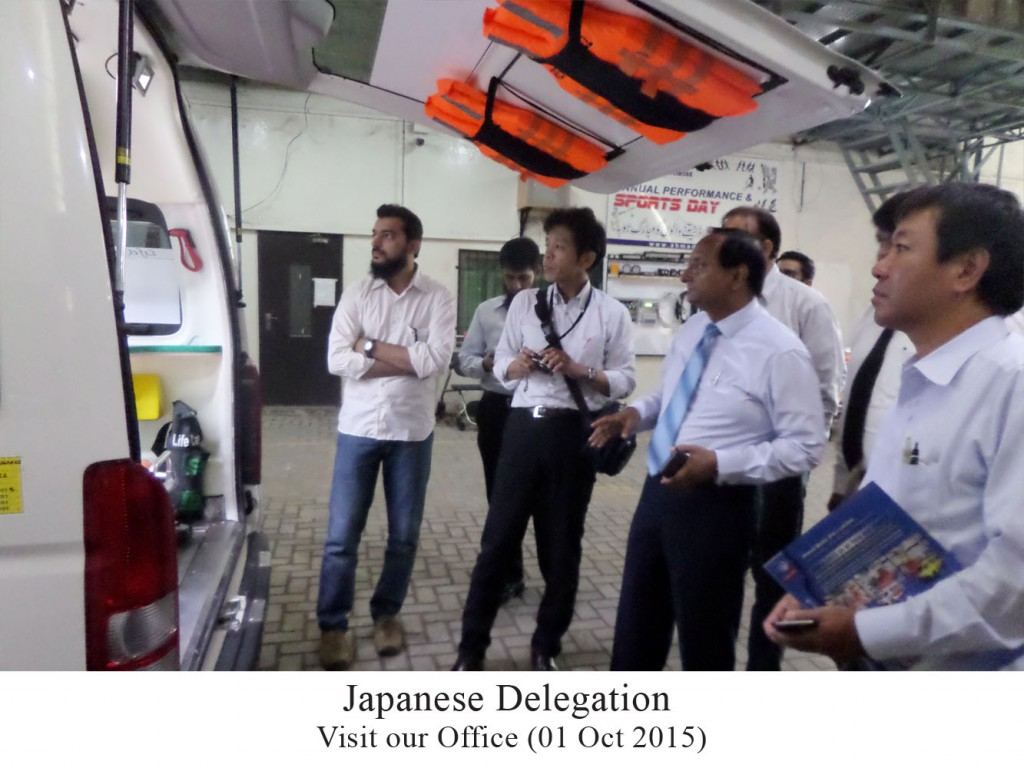 Japanese Delegation visits Ahmad Medix Private Limited