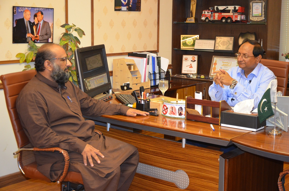 Mr. Faisal Edhi visits Ahmad Medix part 1