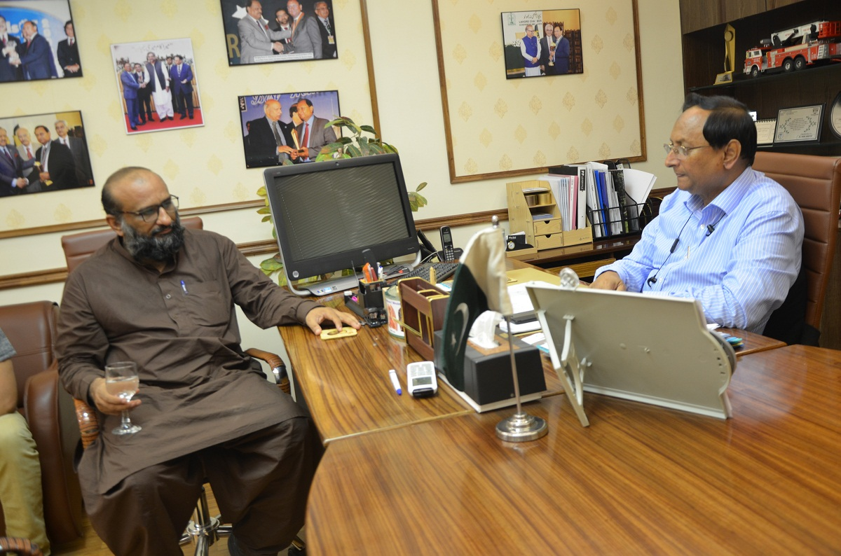 Mr. Faisal Edhi visits Ahmad Medix part 3