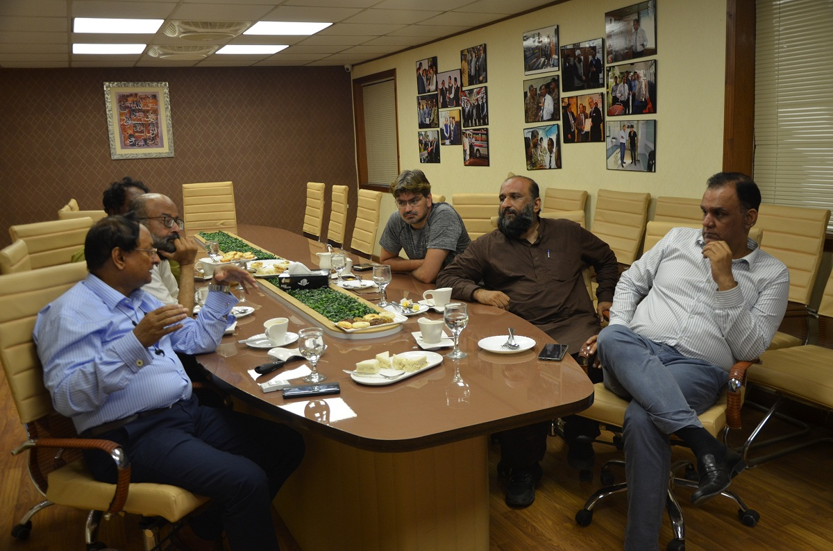 Mr. Faisal Edhi visits Ahmad Medix part 5