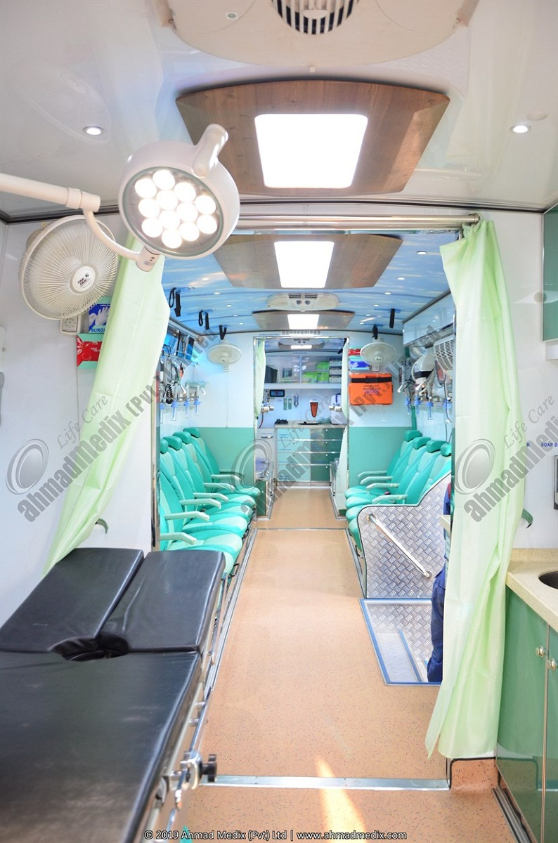 Operation Theater On Bus Chassis