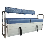 3 to 4 persons side bench with storage